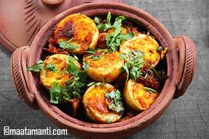 Boiled Eggs Fry Recipe Telugu- ఉడికించిన కోడిగుడ్ల వేపుడు