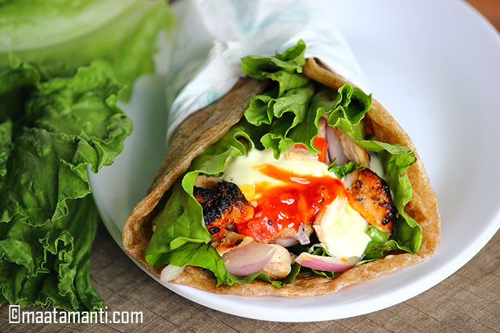 chicken shawarma telugu recipe