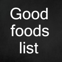 Good foods list